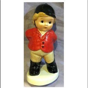 RARE Fox Hunt Porcelain Goebel Little Boy Rider